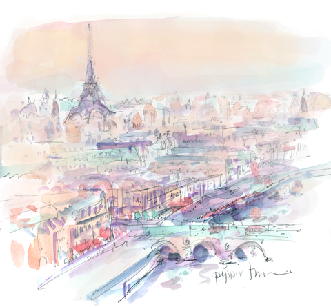 Paris Evening |  [small canvas]