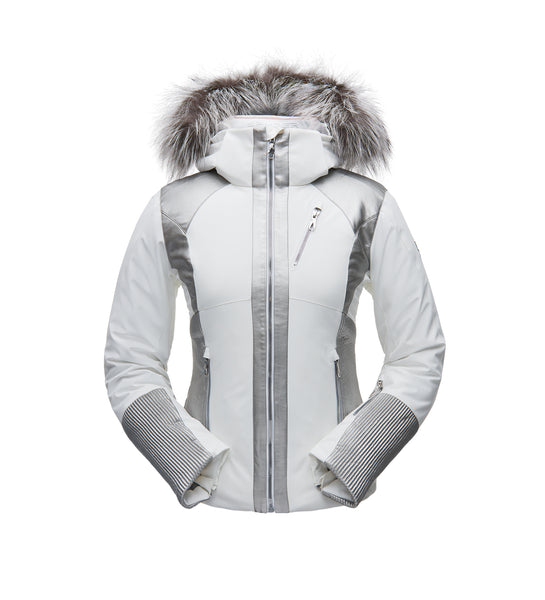 Spyder AMOUR REAL FUR JACKET - Women's