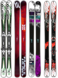 Twin Summits Demo Ski Rental Package