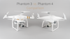 A Phantom 3 and 4 Comparison