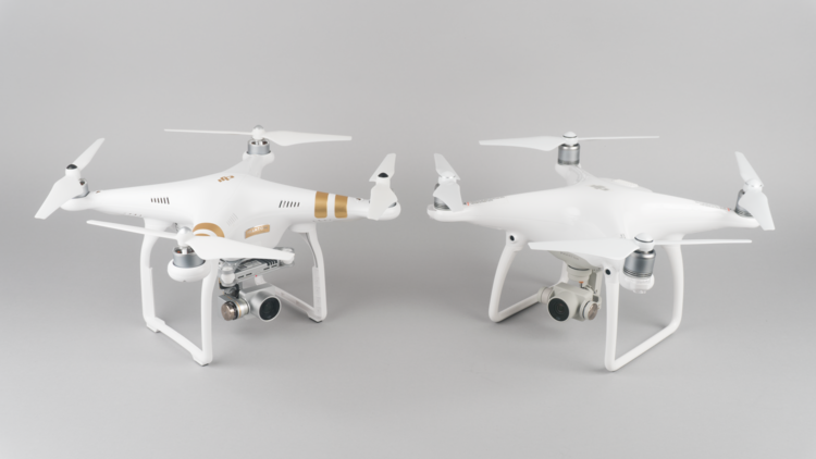 Phantom 3 vs Phantom 4