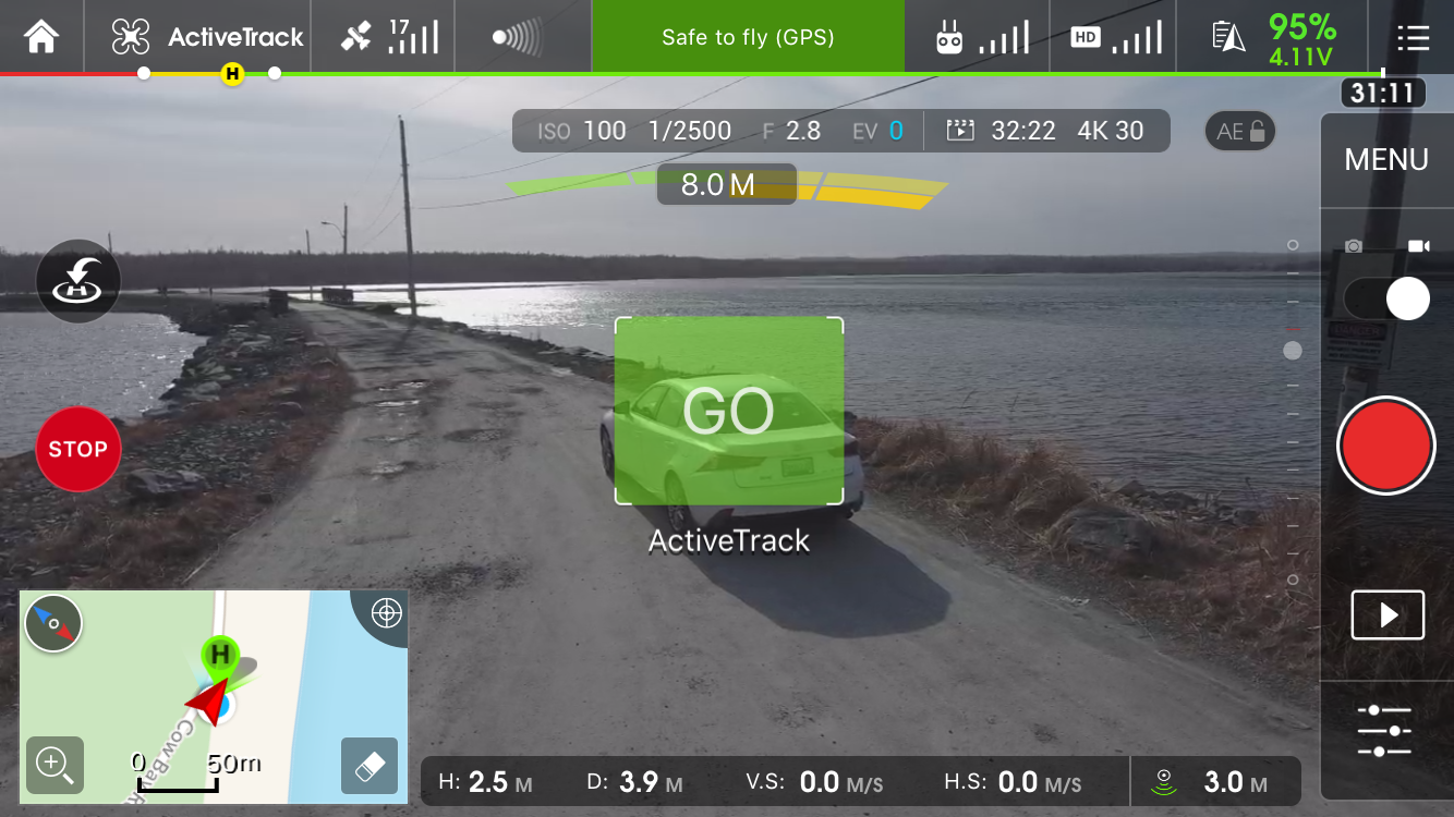 Phantom 4 ActiveTrack