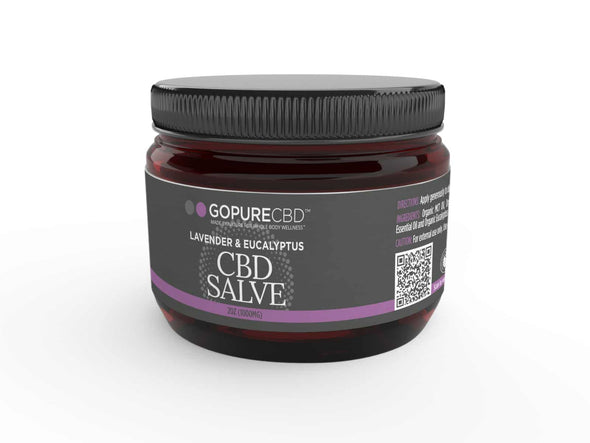 Go Pure CBD Lavender and Eucalyptus Salve