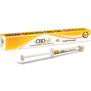 +PlusCBD™ Oral Applicator – 1gm Gold Formula