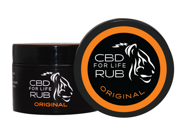 CBD for Life Rub – Original 0.9 oz.
