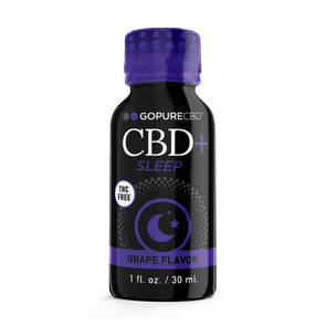 Go Pure CBD + Sleep 25 mg THC Free Shot