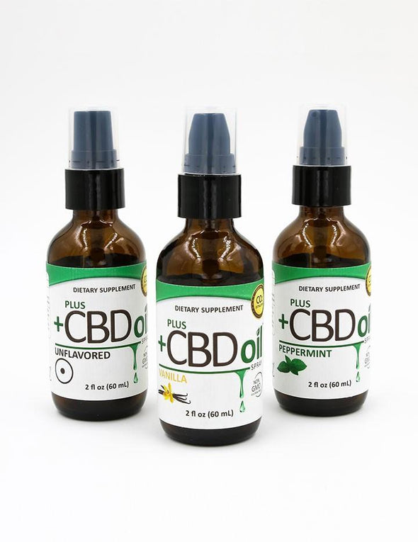 Plus CBD Oil - CBD Spray 2 oz. 500 mg