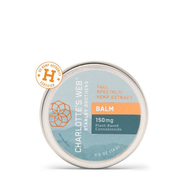 Charlottes Web - CBD Infused Balm - Small 0.5 oz