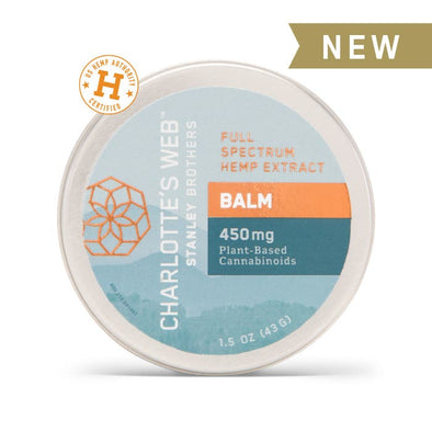 Charlottes Web - CBD Infused Balm - Large 1.5 oz
