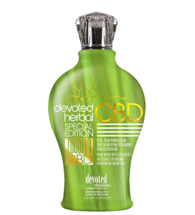 Devoted Herbal Special Edition CBD Black Bronzer - 1000mg CBD - 12.25oz
