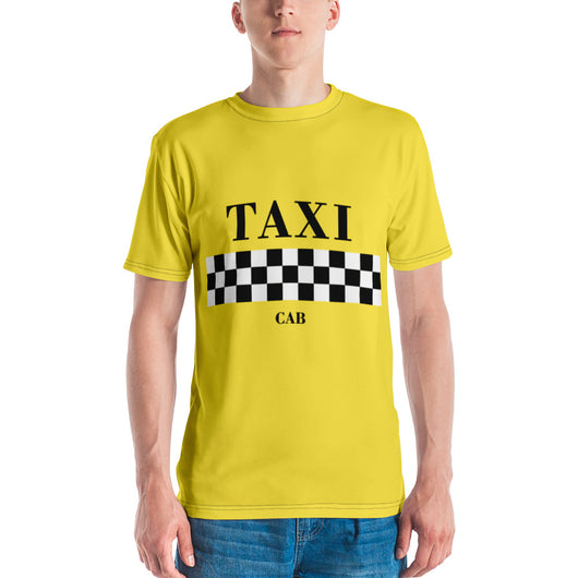 Taxi Cab Men's T-ShirtTaxi Cab Men's T-Shirt