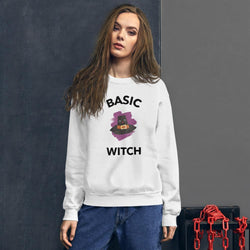Basic Witch Sweatshirt - Gatch Tees