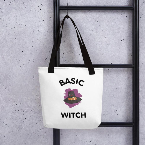 Basic Witch Tote Bag - Gatch Tees
