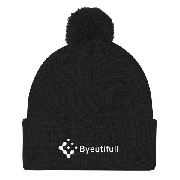 Byeutifull Pom Pom Knit Cap - Gatch Tees