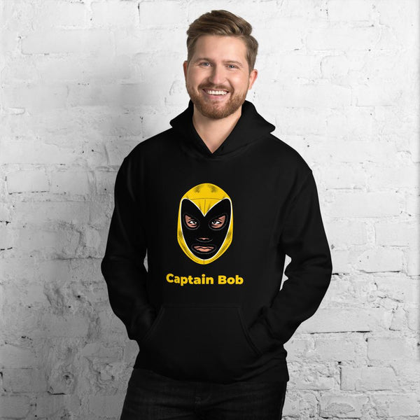 Captain Bob Hooded Sweatshirt - Gatch Tees