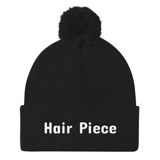 Hair Piece Pom Pom Knit Cap - Gatch Tees