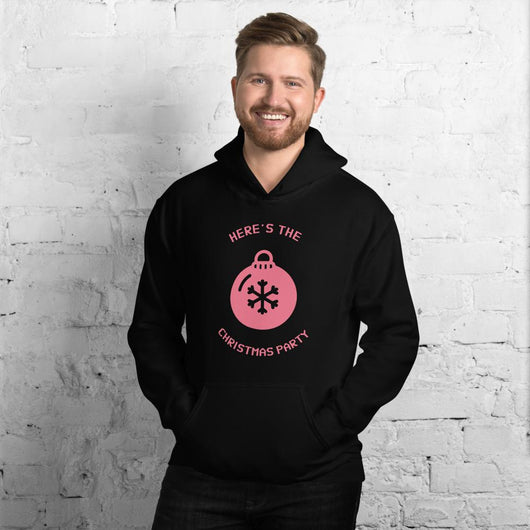 Here's the Christmas Party Unisex Hoodie - Gatch Tees