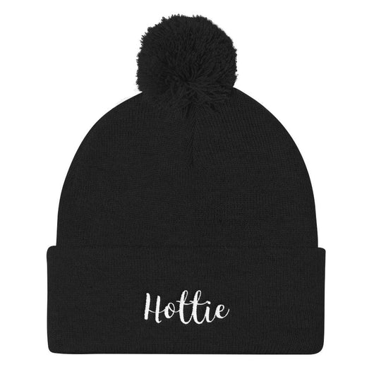 Hottie Pom Pom Knit Cap - Gatch Tees