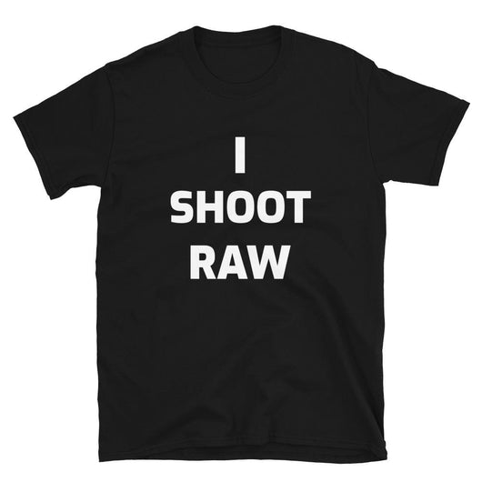 I Shoot Raw Unisex T-Shirt - Gatch Tees