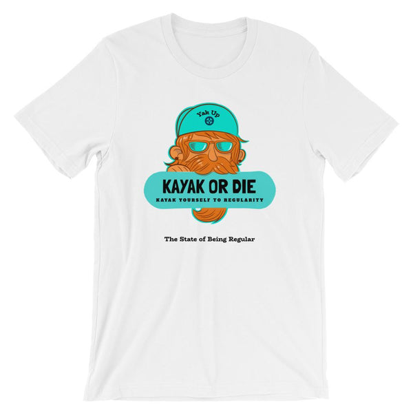 Kayak to Regularity Unisex T-Shirt - Gatch Tees