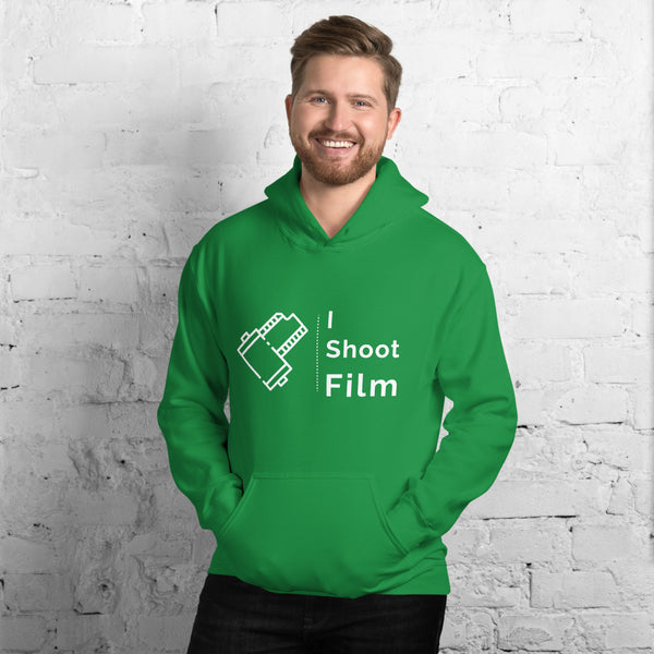 Irish Green I Shoot Film Men's Hoodie