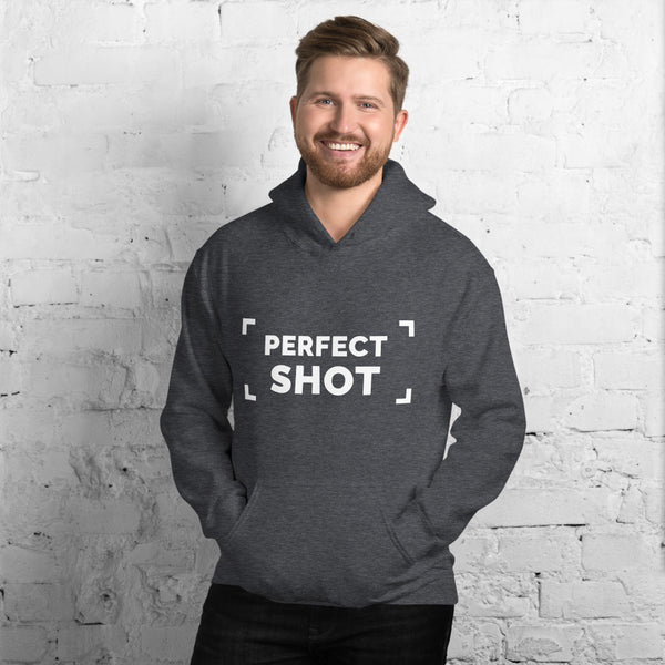Dark Heather Perfect Shot Men's Hoodie