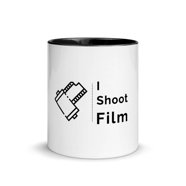 I Shoot Film Mug with Color Inside