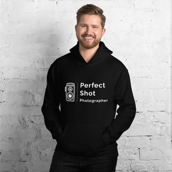 Black Perfect Shot Men's Hoodie
