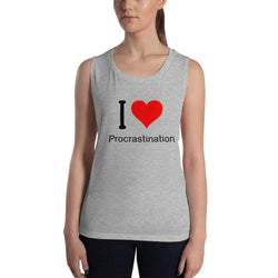 Procrastination Tank Top - Gatch Tees