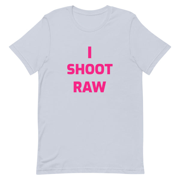 I Shoot Raw Ladies T-Shirt