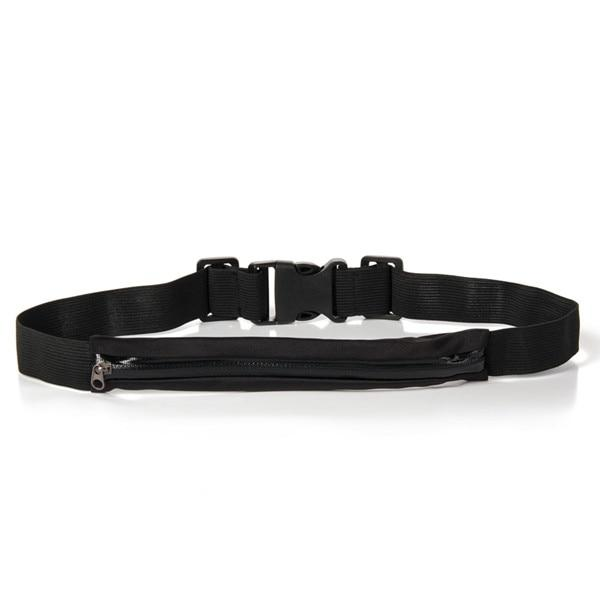 A-Black Waterproof Single Pocket Money Belt - Gatch Tees
