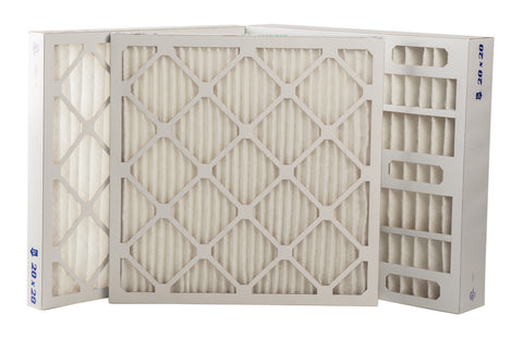 Extended Surface Pleated Air Filters