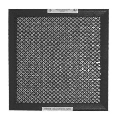 "A+2000 Washable Electrostatic Permanent Custom Air Filter - 6 1/4"" x 6 1/4"" x 1"""