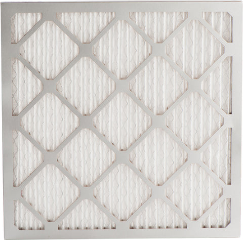 "Merv 8 Pleated Air Filter - 12 7/8"" x 21"" x 1"""