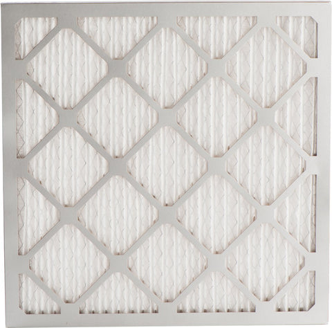"Merv 8 Pleated Air Filter - 21 3/8"" x 21 1/2"" x 1"""
