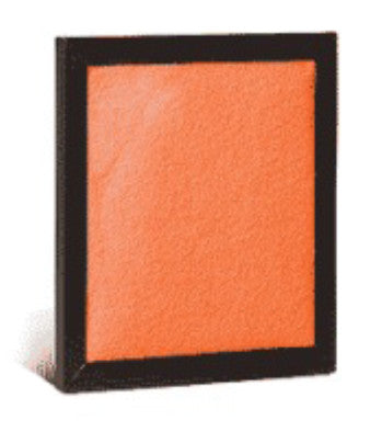 "Pad and Frame Air Filter (1 Frame and 6 Pads) - 6 3/8"" x 6 1/2"" x 3/4"""