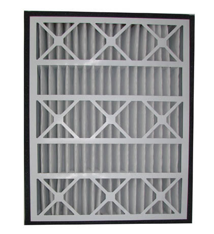 "Practical Pleated Air Filter (2-Pack) - 16"" x 25"" x 5"""