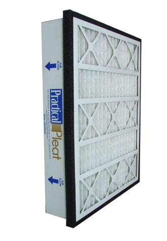 "Practical Pleated Air Filter (2-Pack) - 10"" x 25"" x 5"""