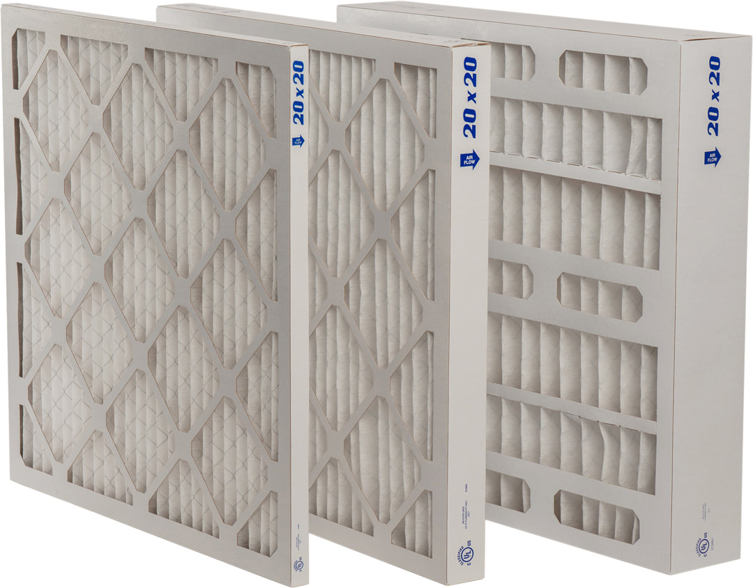 Extended Surface Standard Pleated Air Filters