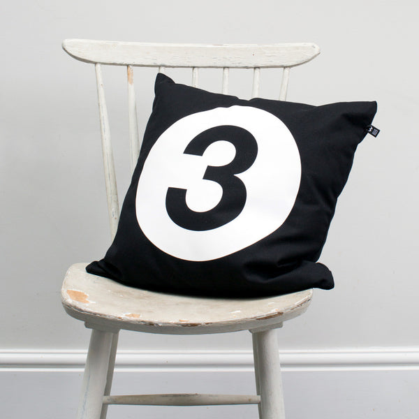 Number #3 Cushion - Wild Boys and Girls - 2