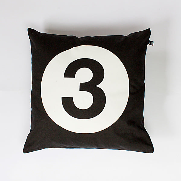 Number #3 Cushion - Wild Boys and Girls - 1