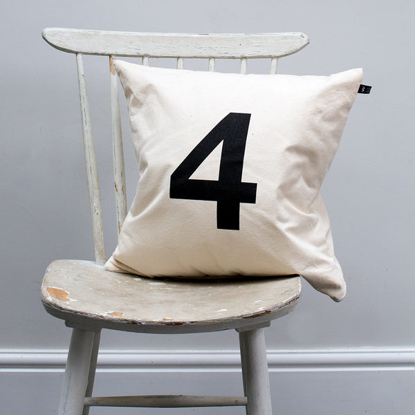 Number #4 Cushion - Wild Boys and Girls - 2