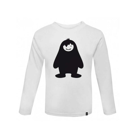 White YETI Tshirt Long Sleeve - Wild Boys and Girls - 1