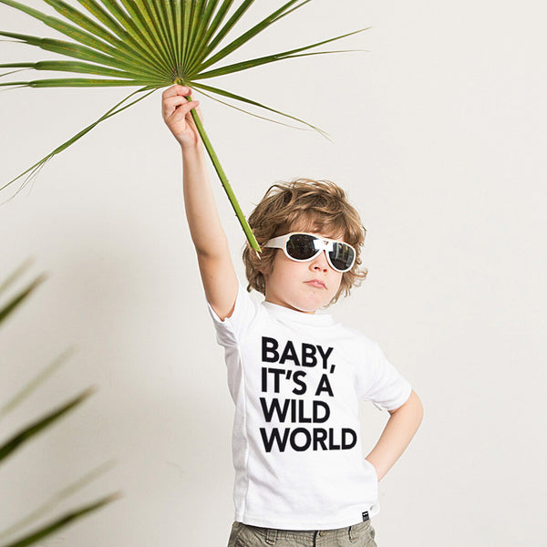 White WILD WORLD Tshirt - Wild Boys and Girls - 1