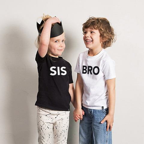 Black SIS Tshirt - Wild Boys and Girls - 1