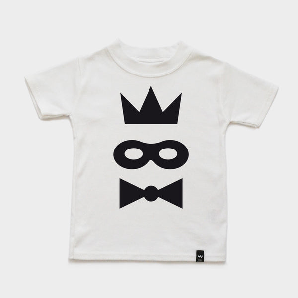 White MASK Tshirt - Wild Boys and Girls - 2
