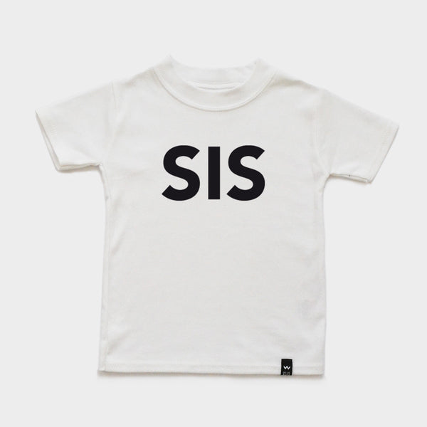 White SIS Tshirt - Wild Boys and Girls - 2
