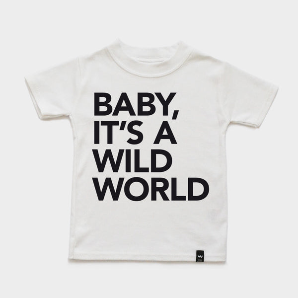 White WILD WORLD Tshirt - Wild Boys and Girls - 2