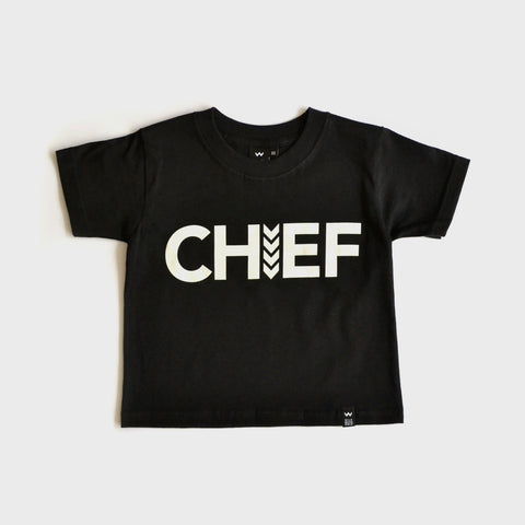 Black Chief Tshirt - Wild Boys and Girls - 1