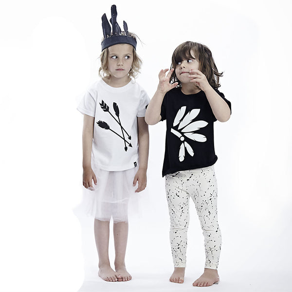 Black Headdress Tshirt - Wild Boys and Girls - 2